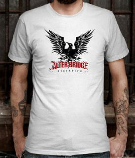 New ALTER BRIDGE Blackbird Alternative Rock Band T shirt Tee Size L (S
