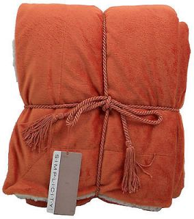 Luxury Faux Throw Blanket Blankets, Bedding and Throws   at Great