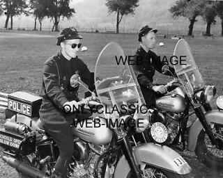 POLICE PANHEAD HARLEY DAVIDSON MOTORCYCLE PHOTO STUNT RACING