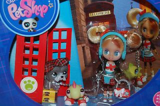 NIB Hasbro Blythe Littlest Pet Shop Doll w/ Pets Dog Gecko #B13 #1860