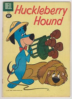 Huckelberry Hound #10, Fine Condition
