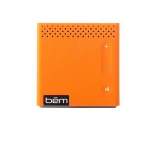 Bluetooth Phone Speaker Portable Wireless Mini Orange Stereo System