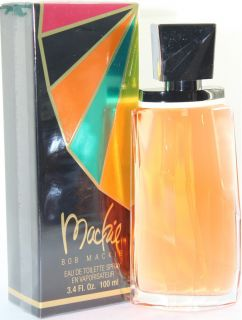 MACKIE 3.4 OZ EDT SPRAY FOR WOMEN NEW IN A BOX BY BOB MACKIE