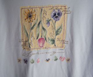 Womens Misses Shirt / Top T shirt by Bobbie Brooks Woman 18 / 20 Blue