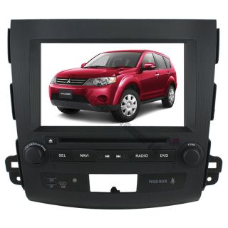 Car DVD Player GPS Navigation Radio ipod bluetooth for Mitsubishi