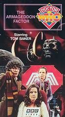 Doctor Who The Armageddon Factor Tom Baker VHS