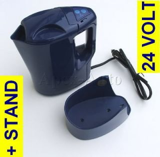 24v Volt Lorry Truck HGV Travel Kettle 250W + STAND