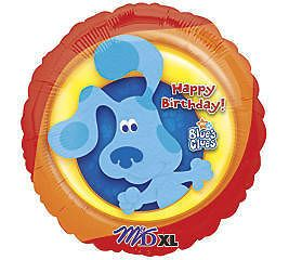 18 Blues Clues Nick Jr. Happy Birthday Party Balloon Blue Mylar Foil