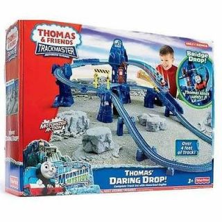 Train & Friends Daring Drop Blue Mountain Quarry Trackmaster Playset
