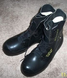 NEW US Military Army Surplus Black Mickey Mouse Boots BATA 8 Regular