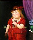 BOTERO FERNANDO ABSTRACT OIL PAINTING CANVAS ART OIL