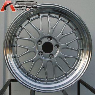 STAGGERED HYP BLACK RIM WHEEL FIT BMW E46 E90 323 325 328 330 335I