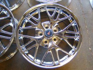 99 05 Pontiac Bonneville Grand am prix 17 chrome alloy wheels rims