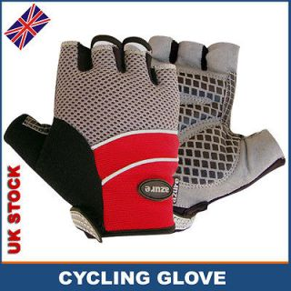 Cycle Gloves Sports Bicycle Mountain Bike BMX Finger Cycling Padded