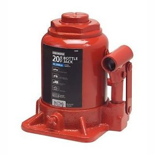 Low Profile Hydraulic Bottle Jack 20 TON Automotive Shop Axle Jack