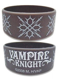 Knight Zeros Tattoo PVC Rubber Bracelet Wristband anime GE 88045