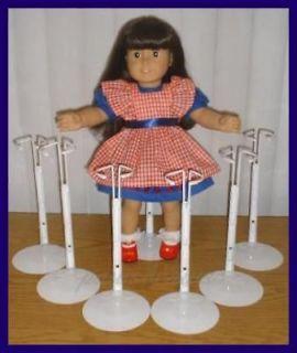 White Kaiser 2601 Doll Stands for AMERICAN GIRL