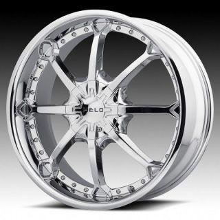 Helo chrome wheels rims 5x5.5 5x139.7 dodge ram 1500 ford bronco fs