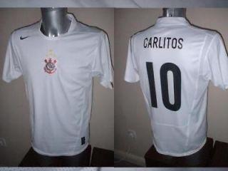 Corinthians Nike Adult L Carlos Tevez Carlitos Shirt Jersey Football
