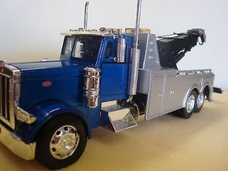 DIE CAST METAL HEAVY DUTY TOW TRUCK WITH TELESCOPING LIFT BOOM NEW