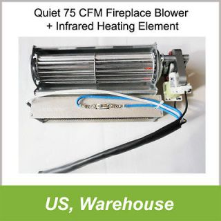 Fireplace Blower + Heating Element for Heat Surge Electric Fireplace