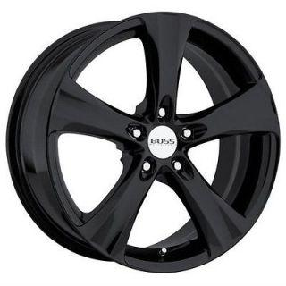 20 inch 20x8.5 Boss 328 pvd black wheel rim 5x4.5 Monterey Marauder
