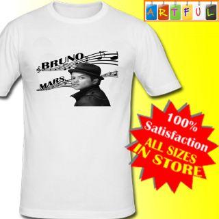 Bruno Mars T Shirt Boys Girls Kids 2 to 16 years Custom print