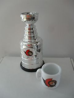 2000 Labatts NHL Mini Stanley Cup and Mug Ottawa Senators
