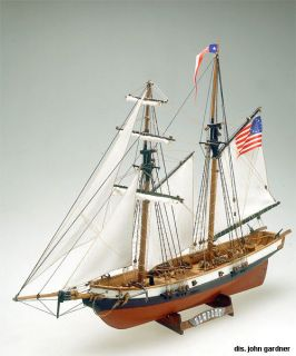 MAMOLI Baltimore clipper NEWPORT wood ship model kit NEW boat planking