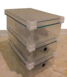 Clear Plastic Shoe Boxes Storage