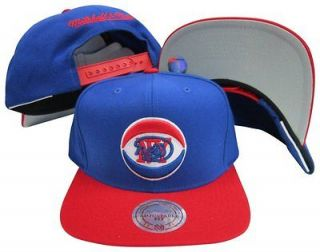 New Jersey New York Nets Snapback Hat Mitchell & Ness NC99Z