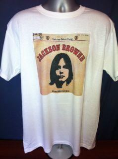 BROWNE SATURATE T SHIRT Van Morrison Tom Petty Neil Young James Taylor
