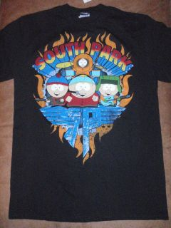 Mens South Park Kyle Cartman Stan Kenny Rock N Roll T Shirt New with