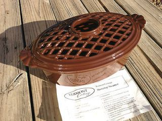 Vermont Castings Wood Stove Humidifier Cast Iron, Brown, Lattice Top