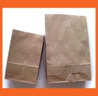 classic brown kraf paper bag 2 size pick 1 20 or 18 pcs