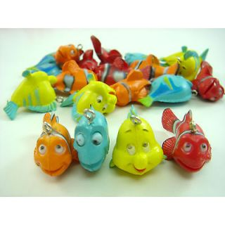 20 x Disney Finding Nemo Dory Fish Mix Jewelry Making Figures Pendant