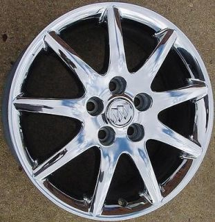 06 10 Buick Lucerne 17x7 9 Spoke Chrome 4018 Wheel / Rim Used With