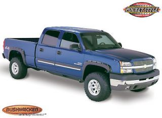 Pocket Fender Flares Bushwacker 2003 06 Chevy 1500/2500/3500 40918 02