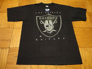 DEADSTOCK VINTAGE NWT LA LOS ANGELES RAIDERS STARTER SHIRT NIGHT