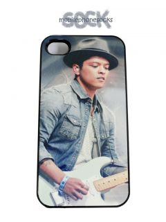 Bruno Mars back cover, clip on, case, fits iPhone 4 & 4s protective