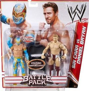 SIN CARA & DANIEL BRYAN WWE MATTEL SERIES 15 BATTLE PACK TAG TEAM