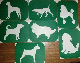 of 7 Dogs 1 Vinyl aoo Body Ar Sencils Glier Airbrush Air Brush