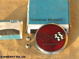 GM Front End Panel Emblem Kit Chevrolet Corvette 1976 1975 NOS