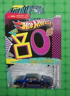 2011 Hot Wheels Cars of the Decades #21 80s    Buick Grand National