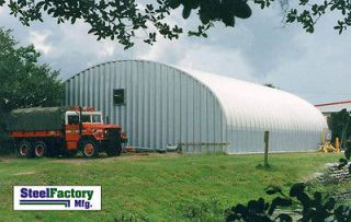 Mfg S40x60x16 Metal Arch Agricultural Barn Storage Building Kit
