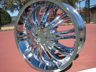 New Chrome Wheels Rims Lincoln LS Nissan Altima 02 on Cadillac STS DTs
