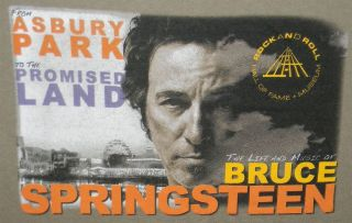 Bruce Springsteen Asbury Park to the Promised Land T shirt Medium Rock