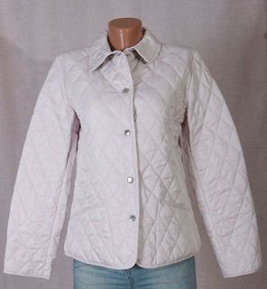 BURBERRY CHILDRENS GIRLS PINK QUILTED NOVA CHECK COAT JACKET 12Y100