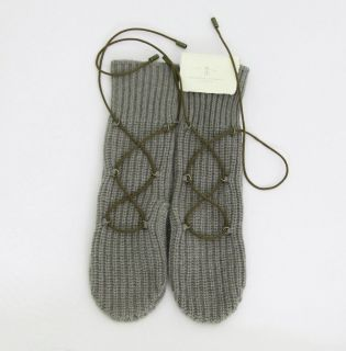 Brunello Cucinelli GLOVES 100% cashmere Kaschmir NEW