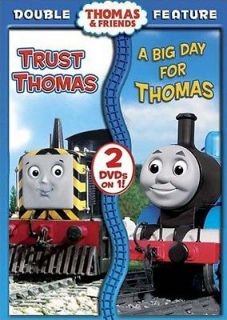 Thomas And Friends   Trust Thomas/A Big Day fo New DVD